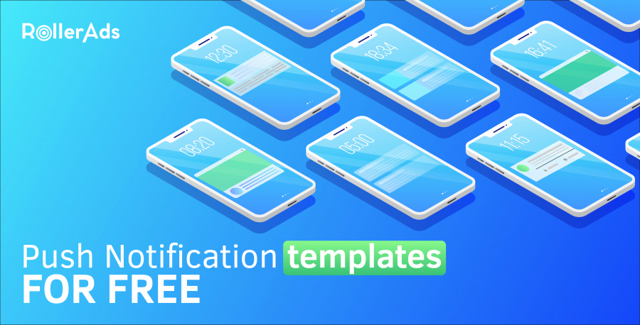 PUSH NOTIFICATION TEMPLATES FOR FREE