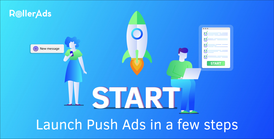 User Guide on how to launch Push Ads in a few steps