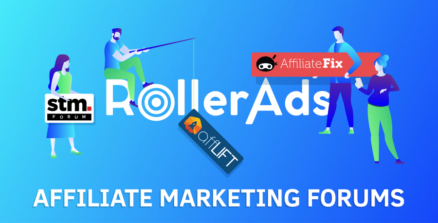 Roller Ads at Affiliate Marketing Forums