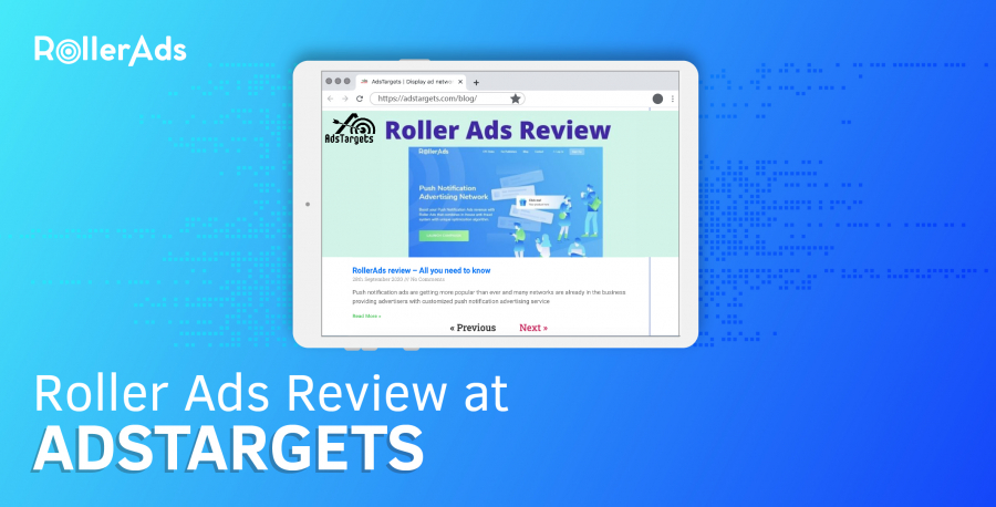 ROLLERADS REVIEW AT ADSTARGET