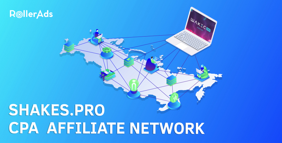 SHAKES.PRO - CPA AFFILIATE NETWORK