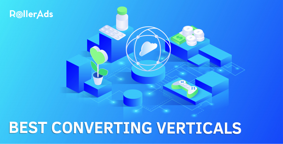 Best converting verticals in RollerAds
